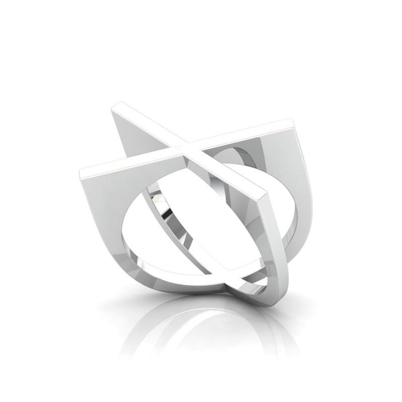 X Shape Ring