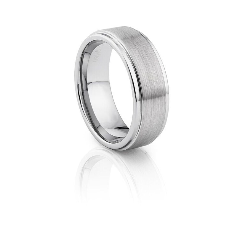 Tungsten Carbide Brushed And Polished