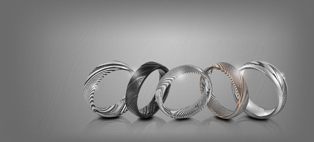 Damascus-Rings